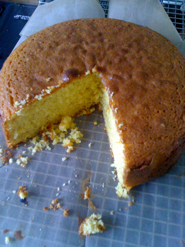 Swedish saffron cake