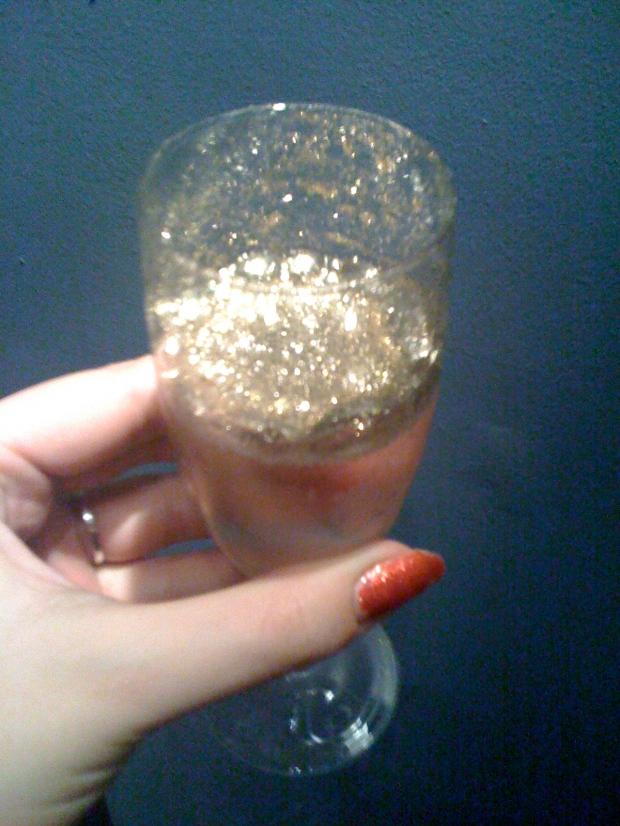 glitter bubbly