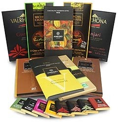 dark chocolate collection from chocolate trading co