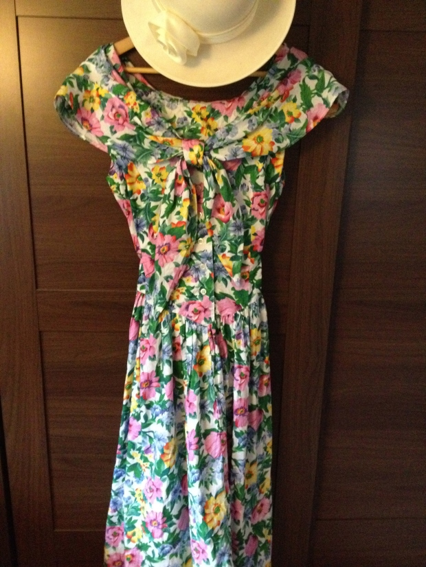 1980's floral sundress from Mint