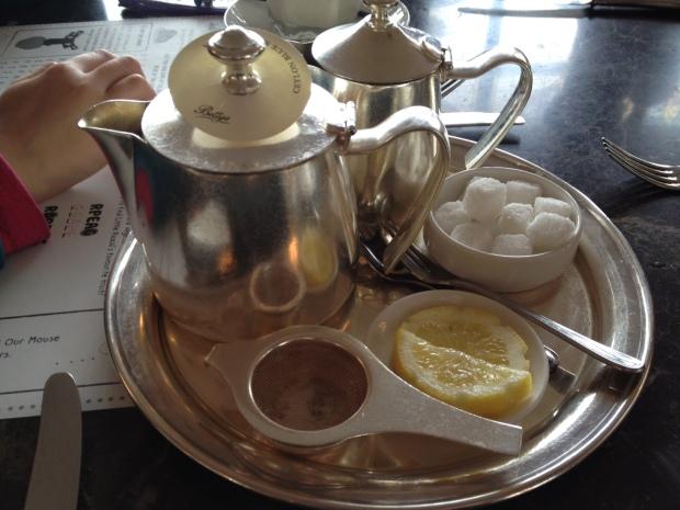 Bettys Cyelon blue sapphire tea