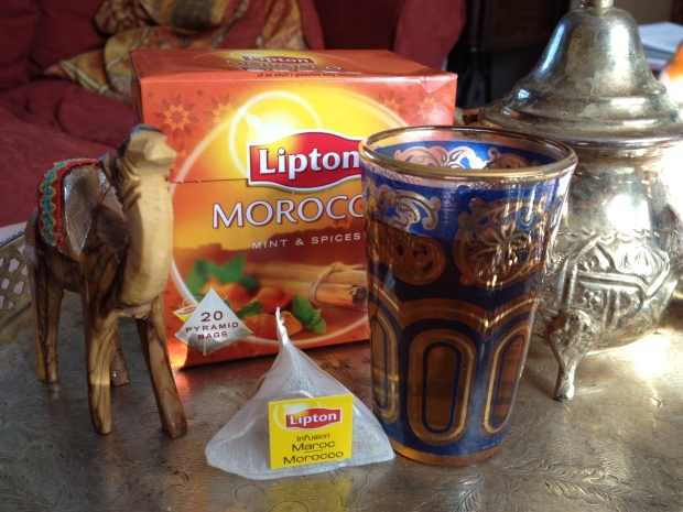Morocco mint and spices tea