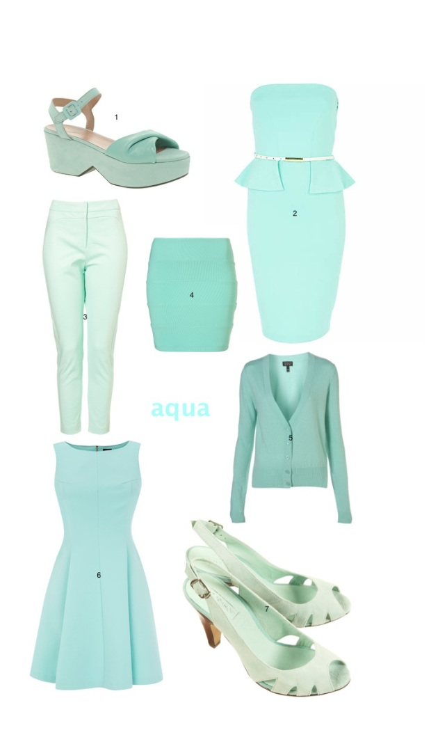 aquamarine fashion board