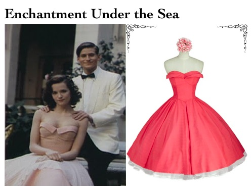 Lorraines Enchantment under the sea dress in back to the future