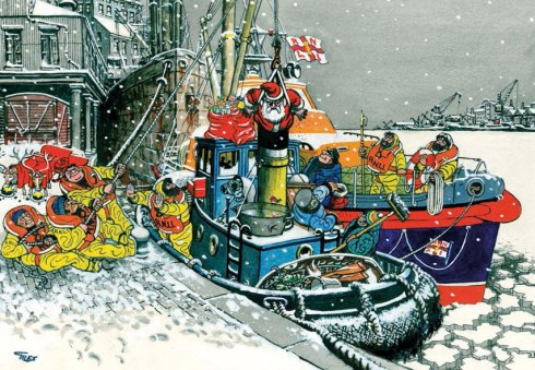 RNLI christmas card