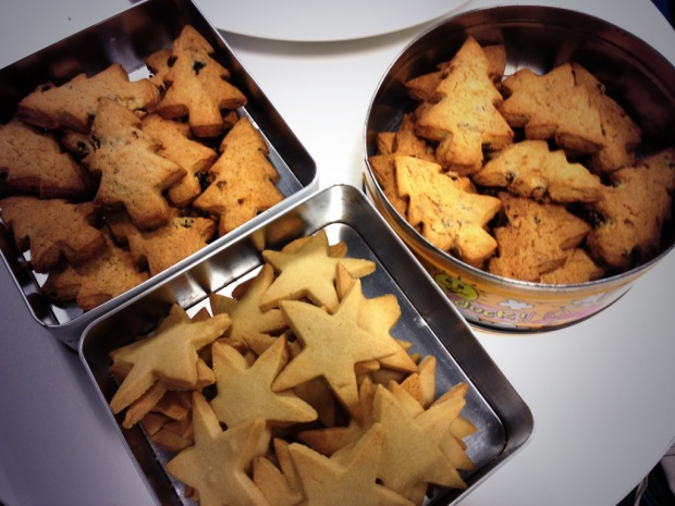 parish christmas biscuits